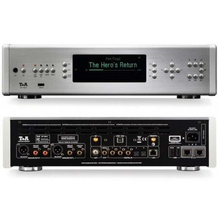 T+A MP 1000 E Odtwarzacz CD z funkcjami sieciowymi.