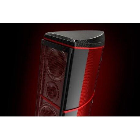 Wilson Benesch A.C.T. One Evolution P1 kolumny głośnikowe podłogowe w wykończeniu farbowany czerwony carbon high-end