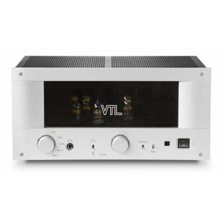 VTL IT-85 zintegrowany wzmacniacz lampowy, Wytłaczany z aluminium panel przedni w kolorze srebrnym (standard) lub czarnym, lampa