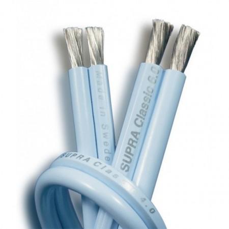 SUPRA Classic 2 x 4.0, supra cables, kable głośnikowe, przewody głośnikowe, supra classic 4.0