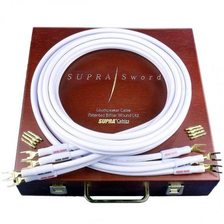 SUPRA SWORD, kabel głośnikowy, kabel do głośników, przewody głośnikowe, konfekcjonowany kabel głośnikowy, supra cables łódź