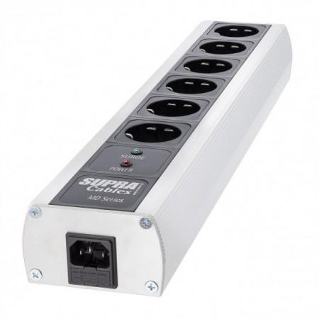 SUPRA MD06-EU/SP MK3, listwa zasilająca, listwa supra, listwa do audio, listwa przeciwprzepięciowa