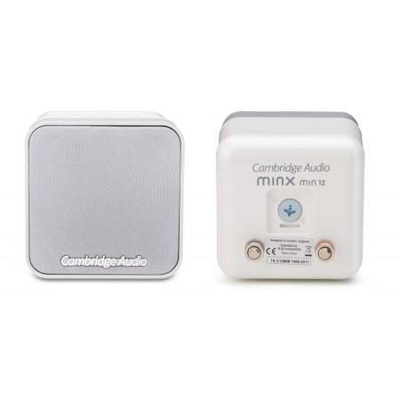 Cambridge Audio Minx12, głośniki satelitarne, kolumny podstawkowe, minx min