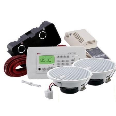 EisSound KBSound Premium, radio sufitowe do łazienki kuchni, radio do zabudowy sufitowej, wielofunkcyjne radio sufitowe