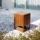 Architettura Sonora BLOCK 360, głośnik pełnozakresowy lub subwoofer, głośnik niskotonowy idealny na taras, włoski design