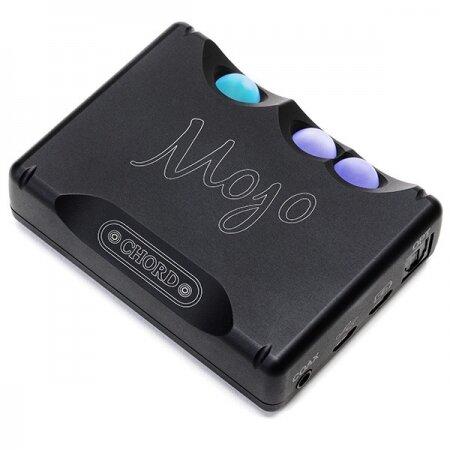 CHORD Mojo, przenośny przetwornik i wzmacniacz słuchawkowy w jednym, wzmacniacz słuchawkowy z DAC, na dwie pary słuchawek