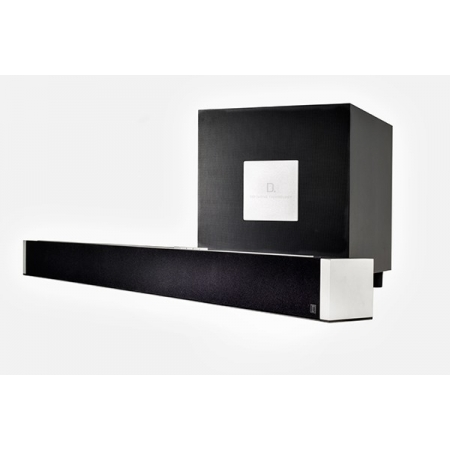 Definitive Technology W Studio, soundbar wraz z subwooferem, multiroom Play-Fi Wi-Fi bezprzewodowy Soundbar 5.1 z subwooferem