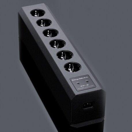 GIGAWATT PF-2 MK2 + LC-1 MK3, LISTWA ZASILAJĄCA Z KABLEM ZASILAJĄCYM, listwa filtrująca przeciwprzepięciowa
