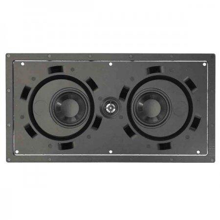 """Beale Street Audio IPLCR-4BB superpłytki głośnik """"naleśnik"""" LCR lub stereo"""