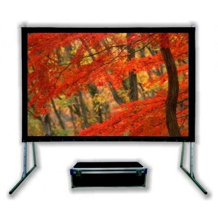 Suprema ORION 405×253 FRONT, ekran projekcyjny ramowy przenosny do projekcji przedniej, ekran do kina domowego, ekran do ogrodu